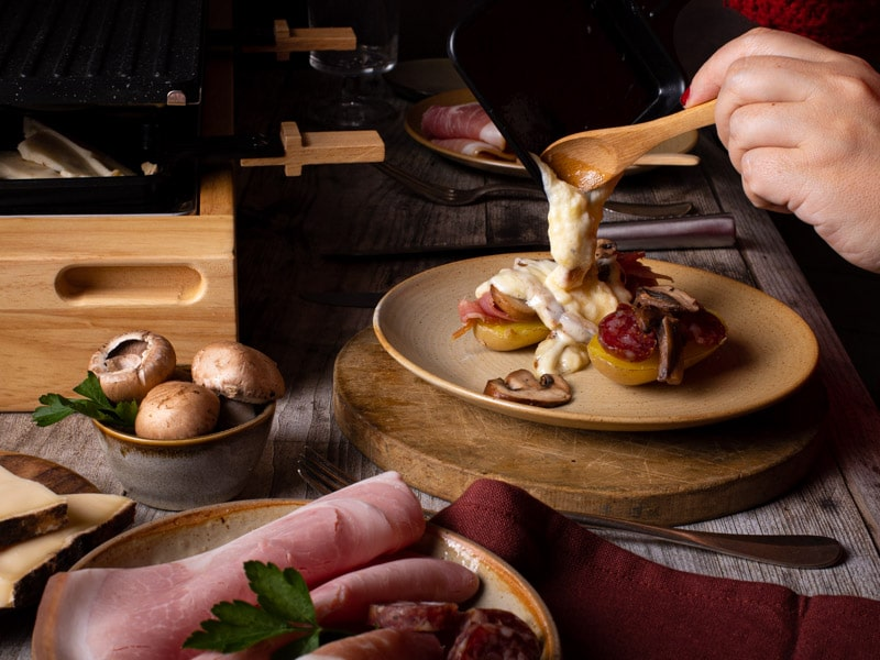 La raclette aveyronnaise de Maison de l'Aveyron