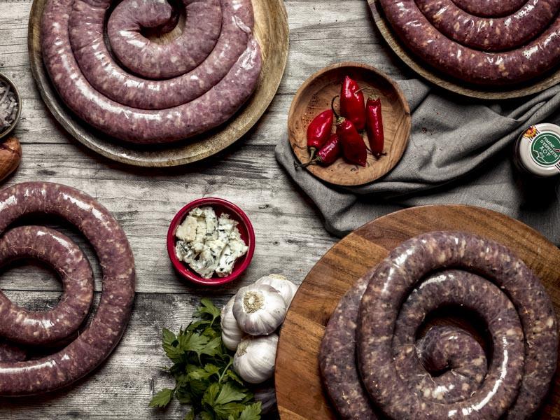 Saucisses aromatisés pour barbecue